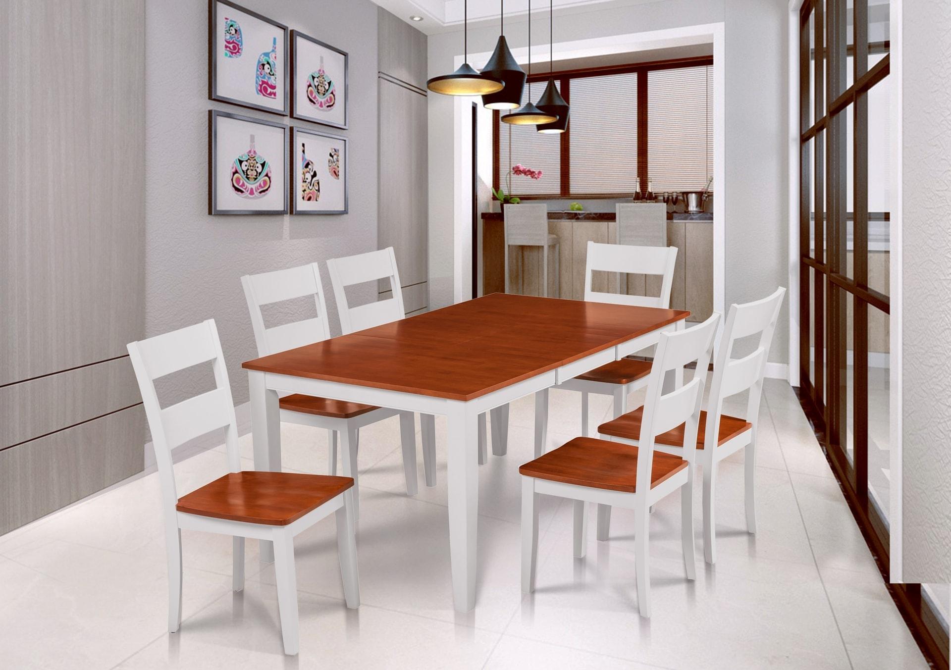 Fullerton Fold Able Table White ...