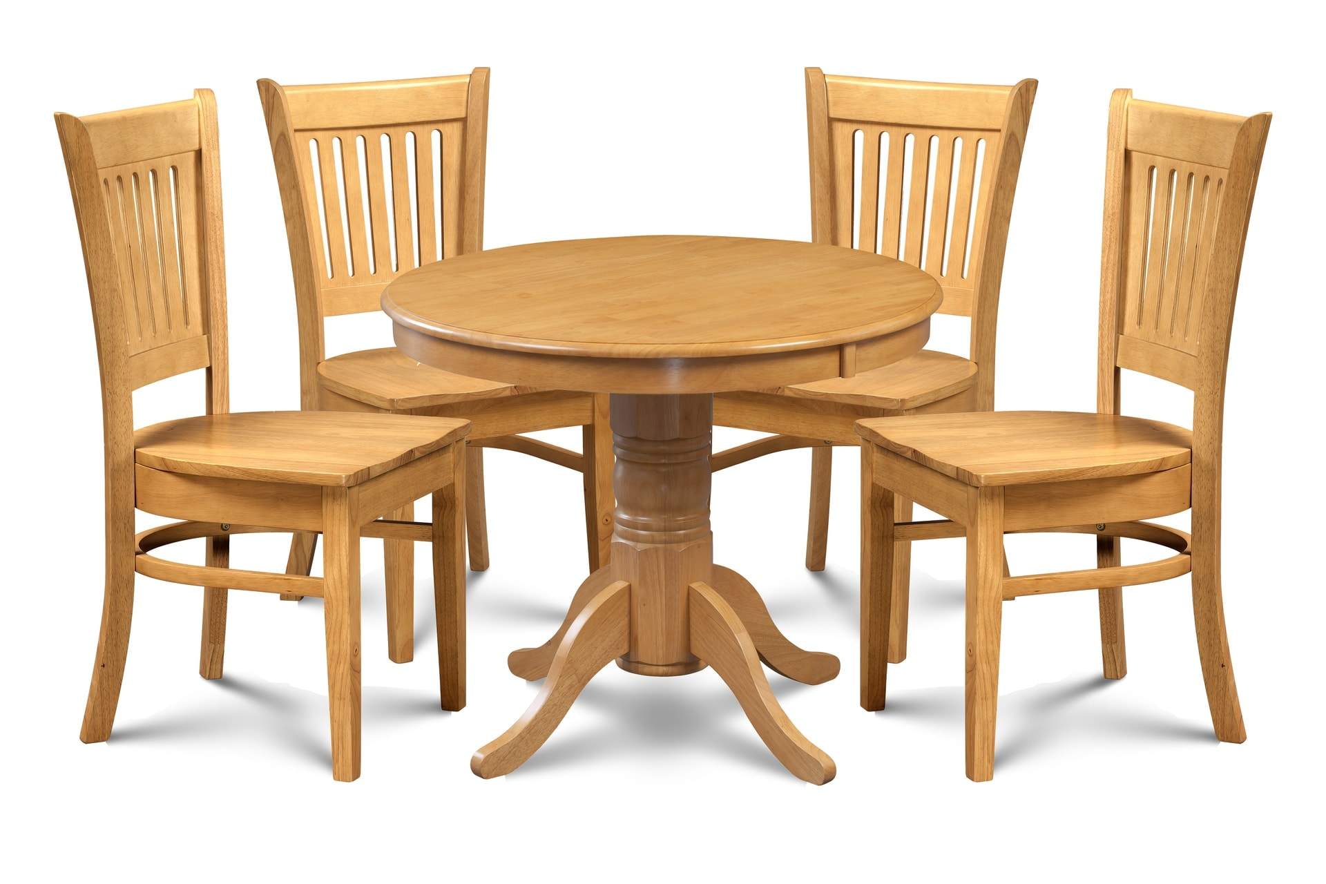 Bellingham Solid Wood 5 Piece Dining Set